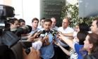 Aécio Neves fez campanha em Presidente Prudente (SP) Foto: Divulgação