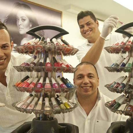 Fabrício Mattos (à esquerda), Leonardo Fioroni e Gustavo Martins. Foto: Adriana Lorete / Agência O Globo