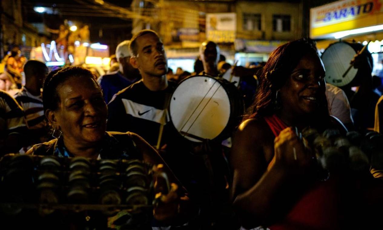Evento teve direito a samba Foto: YASUYOSHI CHIBA / AFP
