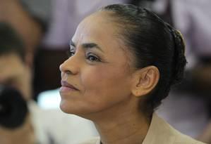 A candidata do PSB à Presidência, Marina Silva Foto: Marcos Alves / Agência O Globo
