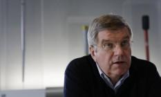 Thomas Bach, presidente do Comitê Olímpico Internacional (COI) Foto: Morry Gash / AP