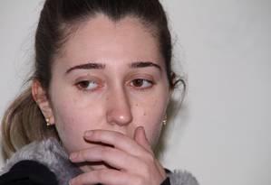 Patrícia disse que, na infância, era torcedora do Internacional Foto: Luciano Leon/Agência O Globo