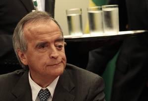 O ex-diretor da área internacional da Petrobras, Nestor Cerveró, volta a depor na CPI da Petrobras Foto: Jorge William/O Globo