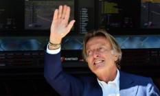 Sob o comando de Montezemolo, a Ferrari conquistou sete títulos do Mundial de Construtores da Fórmula-1 Foto: GIUSEPPE CACACE / AFP