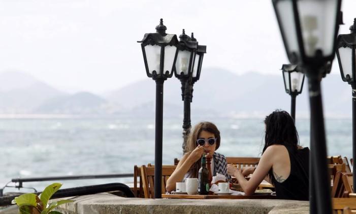 Cenário perfeito para um delicioso café da manhã Foto: Gustavo Miranda / Agência O Globo