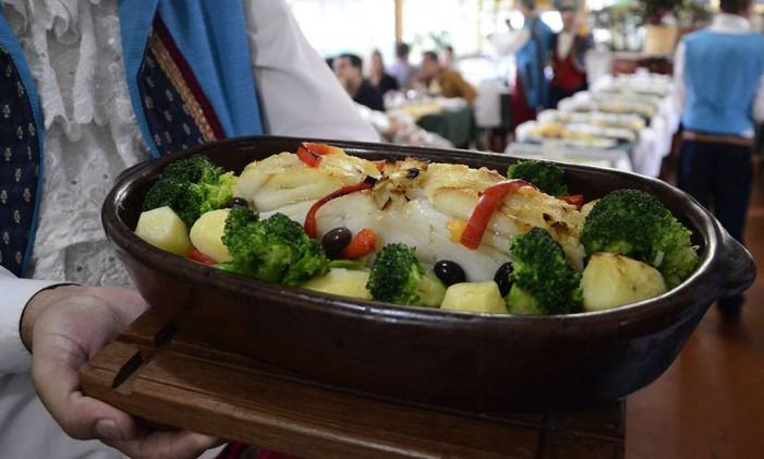 Um dos pratos do restaurante da Quinta da Boa Vista Foto: Divulgação/ Prefeitura do Rio