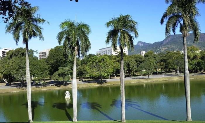 O parque da Quinta da Boa Vista é um convite para o piquenique Foto: Divulgação / Prefeitura do Rio