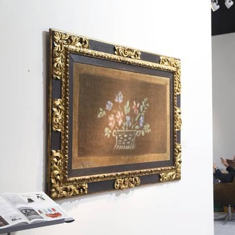 Tela de Picasso oferecida pela galeria Mayoral, de Barcelona Foto: Ana Branco / Agência O Globo