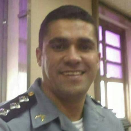O capitão Uanderson Manoel da Silva comandava a UPP Nova Brasília havia três meses Foto: Divulgação