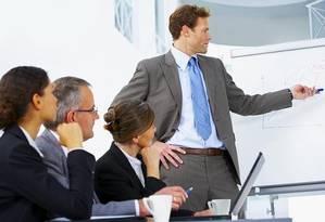 Fazer apresentações é um dilema para muitos profissionais. Em inglês, o desafio é ainda maior Foto: Divulgação