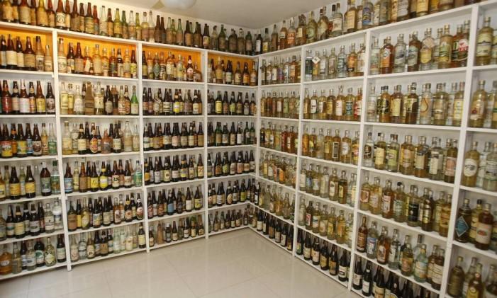O perfume da cachaça é importante na qualidade da bebida Foto: Felipe Hanower / Agência O Globo