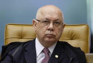 O ministro Teori Zavascki, do STF Foto: Nelson Jr / STF