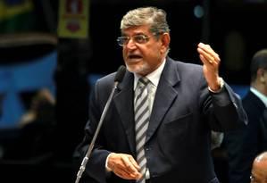 Suspeito. O senador Mário Couto (PSDB) é um dos acusados pelo MP de fraudar folha de pagamento da Assembleia Foto: Ailton de Freitas/30-10-2012 / Agência O Globo