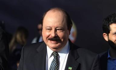 Levy Fidelix, candidato à Presidência pelo PRTB, fez declarações homofóbicas em debate Foto: Agência O Globo / Fernando Donasci/01-09-2014
