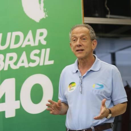Walter Feldman: Rands não falou como porta-voz da campanha de Marina Foto: Brazil Photo Press / Vanessa Carvalho