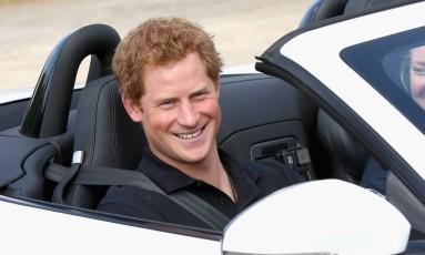 Príncipe Harry no Invictus Games, em setembro Foto: POOL / REUTERS