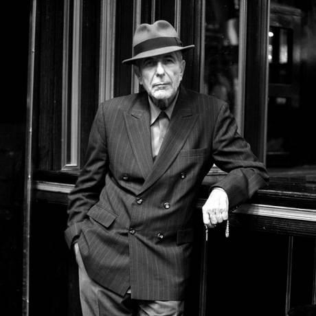 O cantor Leonard Cohen Foto: Divulgação