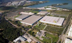 Riocentro visto do alto: Rio pode perder eventos no ano olímpico Foto: Divulgação