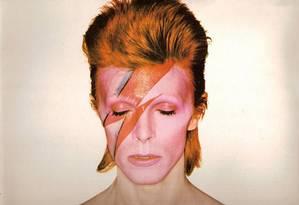 O músico britânico David Bowie Foto: Divulgação