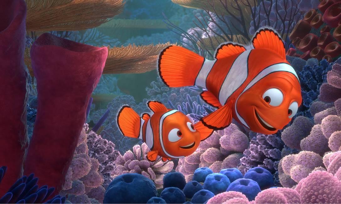 """Cena do filme """"Procurando Nemo"""" Foto: Divulgação"""