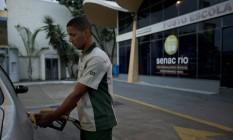"""Na """"sala de aula"""", os alunos do curso aprendem na prática Foto: Agência O Globo / Guilherme Leporace"""