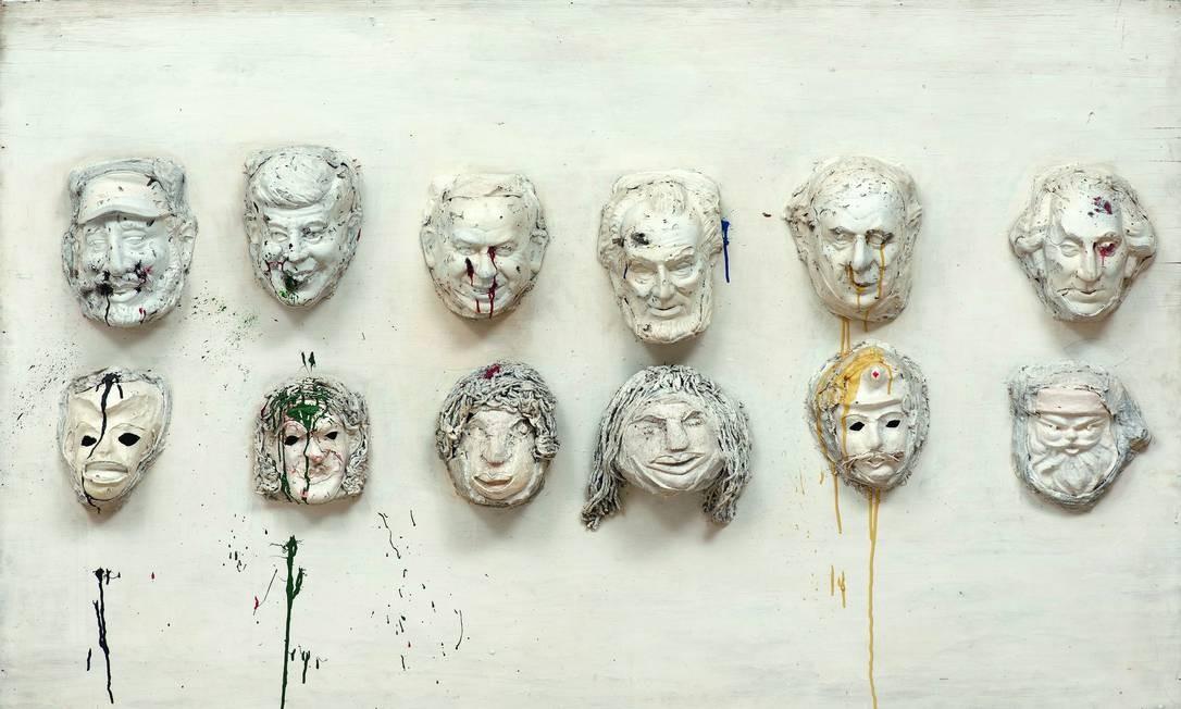 'Heads of State (Study for King Kong) (1963) Foto: Divulgação/Berlin, Dist. RMN-Grand Palais / Sprengel Museum Hannover