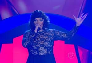 Drag queen Deena Love rouba a cena na reestreia do 'The Voice Brasil' Foto: Reprodução/ TV Globo
