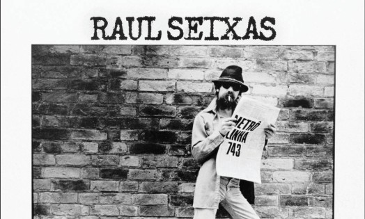 Capa de 'Metrô Linha 743', de Raul Seixas (1984). A fotografia também é de Taborda, que lamenta ter perdido uma fita enviada por Raul a ele com monólogos 'preciosos' Foto: Divulgação