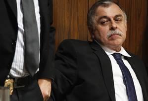 Paulo Roberto Costa compromete mais dois ex-diretores em depoimento Foto: Jorge William / O Globo