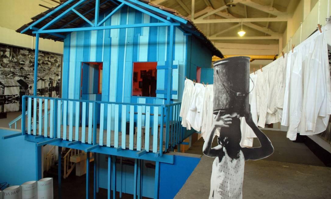 Museu da Maré Foto: Divulgação / Naldinho Lourenço