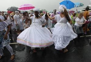Religiões de matriz africana foram citadas como alvo de ataques Foto: Domingos Peixoto / Agência O Globo
