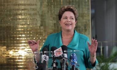 Presidente Dilma Rousseff disse que declaração foi má interpretada Foto: Ailton de Freitas / Agência O Globo