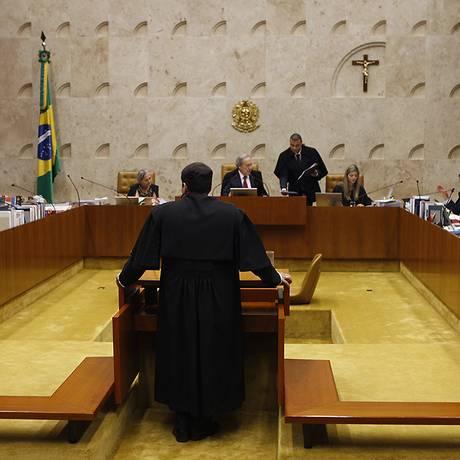 Plenário do Supremo Tribunal Federal Foto: STF
