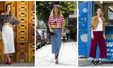 Pantalona cropped: a calça da vez Foto: Fotos de Ana Branco