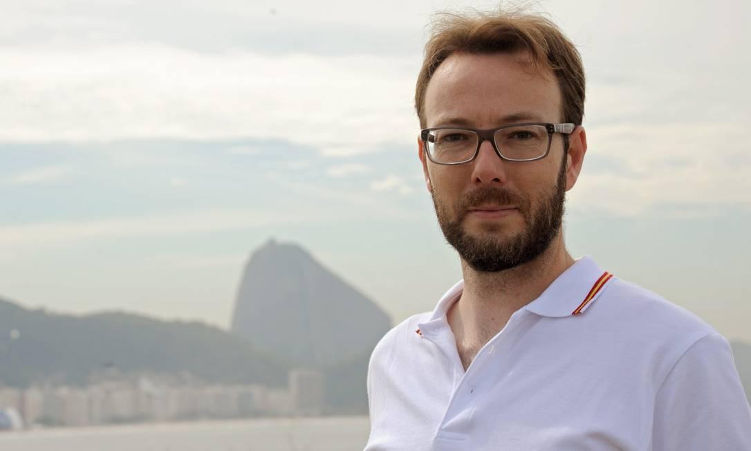 José Luiz Perez relata a experiência de ser fotógrafo da Copa para outro país e dá suas impressões sobre o Brasil Foto: Adriana Lorete / Agência O Globo
