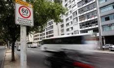 Excesso de velocidade Foto: Custódio Coimbra / Agência O Globo