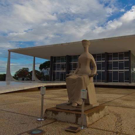 Fachada do Supremo Tribunal Federal, em Brasília Foto: Divulgação / STF