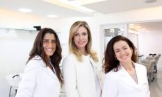 Cynthia Howlett, Mariana Pinheiro Machado e Beatriz Serpa Foto: Gustavo Styephan