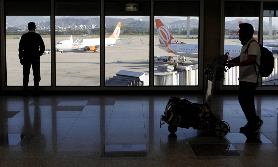 Galeão, leiloado em 2013: para analista, Infraero deve compensar perda de receita com consultoria no exterior Foto: Gustavo Miranda / O GLOBO/8-8-2014