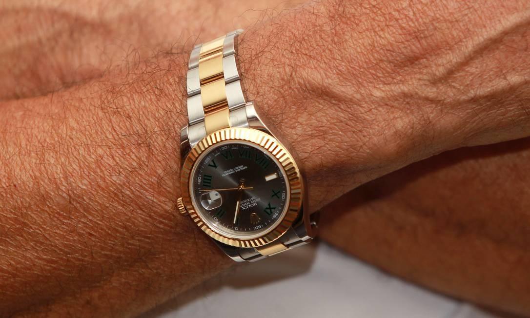 ad00d036b71 Ladrões de relógios de luxo têm contatos no exterior para negociá-los Foto   Fernando