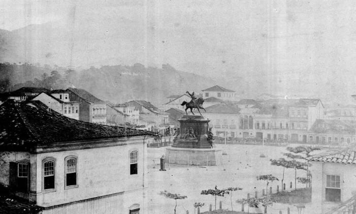 A estátua D Pedro I Foto: Divulgação