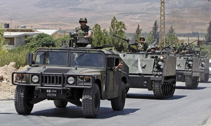 Resultado de imagem para exercito libanes