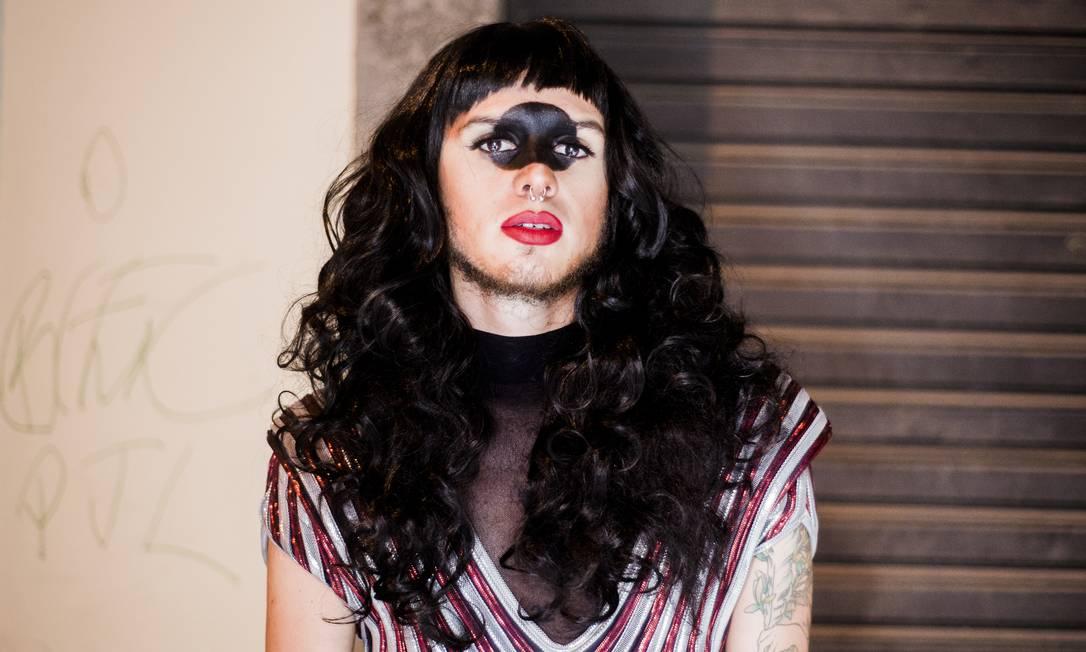 O produtor Gabriel de La Torre, 24 anos, o Pandora Yume, criador da festa Drag Attack, que acontece hoje na Comuna Foto: Divulgação/Derek Mangabeira/I Hate Flash