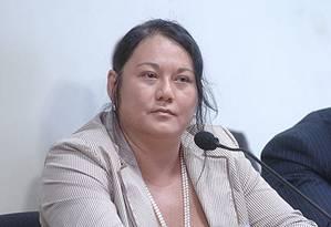 MPF pede 47 anos de prisão para doleira Nelma Kodama, parceira do também doleiro Alberto Youssef Foto: Agência Senado/9-3-2006
