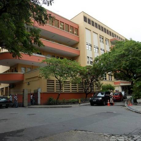 O Hospital Universitário Pedro Ernesto, em Vila Isabel Foto: Marcelo Piu / Agência O Globo (26/11/2012)