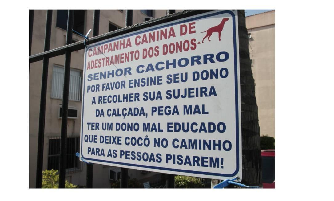 Respeitar espaços e higienização ajudam a melhorar a convivência Foto: Agência O Globo