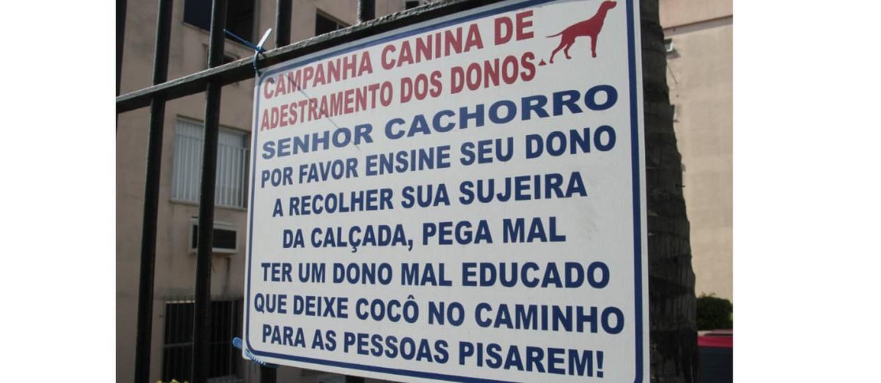 Respeitar espaços e higienização ajudam a melhorar a convivênciaFoto: Agência O Globo