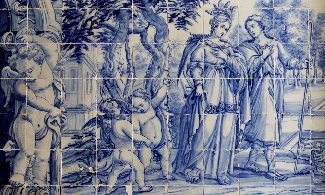 Uma hist ria constru da de azulejo em azulejo jornal o globo for Azulejos historia