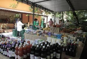 Cresce o número de feiras orgânicas Foto: Fernanda Dias / Agência O Globo