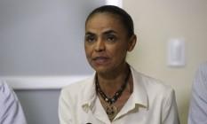 Candidata a presidencia da republica Marina Silva faz campanha na cidade Mineira de Juiz de Fora Foto: Pablo Jacob/26-09-2014 / Agência O Globo